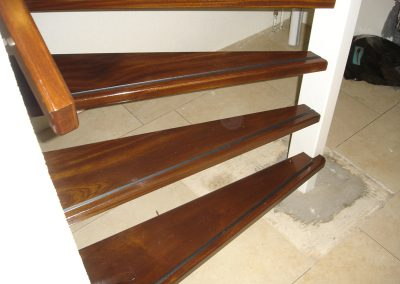 1 vervangen trap