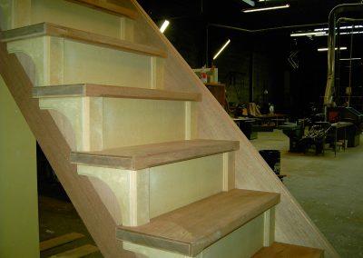 houten dichte trap